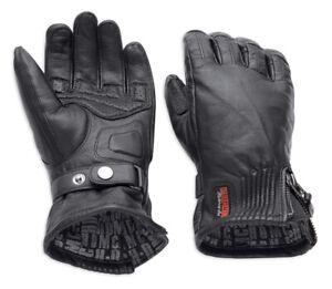 Harley-Davidson® Women's Jayden Under Cuff Gauntlet Gloves.