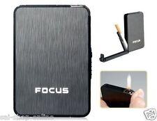 """FOCUS """"De Ville"""" Ultra thin Automatic Ejection Cigarette Case Lighter"""