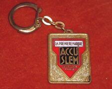 Porte-clés ACCU SLEM LEVALLOIS PARIS fournitures AUTO SERRA NANCY Rue Jeanne Arc
