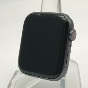 Apple Watch Series 4 Cellular Space Gray Aluminum 40mm w/ No Bands 6/10