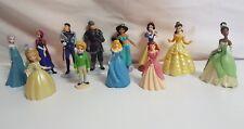 Disney Princess Figurine Lot Old & Modern toys  Jasmine Snow White Elsa Belle