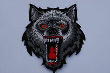 Savage Wolf - Iron/Sew on Biker Patch No344