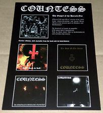 COUNTESS - countessmetal.com - promo flyer / advert (A6)
