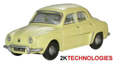 Oxford 76RD002 Renault Dauphine Yellow 1/76 Scale = 00 Gauge New in Case -T48