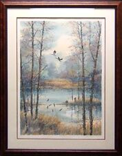 """Steve Bloom """"Meadow Pond"""" Hand Signed Numbered with custom frame L@@K!"""
