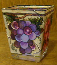 """Amia Studios Votive #6076 GRAPES PINK/PURPLE, NEW/Box From Retail Store, 3"""""""