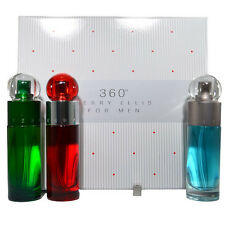 360 Perry Ellis by Perry Ellis Eau De Toilette for men Gift set of 3 Pcs