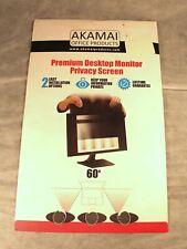 "27"" Akamai Office Products Premium Desktop Monitor Privacy Screen 27""  60 Degree"