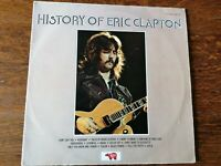 ERIC CLAPTON HISTORY OF. VINYL EXCELLENT COVER VERY GOOD. EXCELLENT AUDIO.