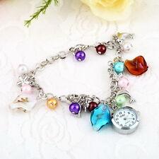 Kiss Ocean- dolphin Alloy Charming Quartz Bracelet Bangle Wrist Watch Women  F5