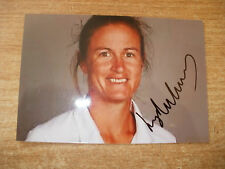 SIGNED PHOTO-LYDIA GREENWAY-KENT AND ENGLAND LADIES CRICKET
