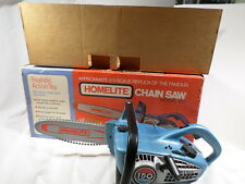 Homelite Home Lite BOXED Model 150 Toy Chainsaw Battery Operated