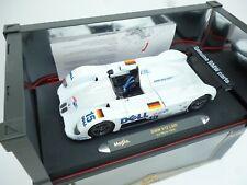 1:18 Maisto BMW V12 LMR 1999 #15 Martini / Dalmas / Winkelhock 24h M BOX