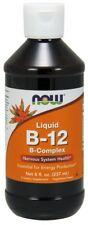 Vitamin B-12 Complex Liquid Now Foods 8 oz Liquid