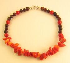 Red Coral Jasper Sterling Silver Bracelet 8 Inches Fashion Bracelets Fashion