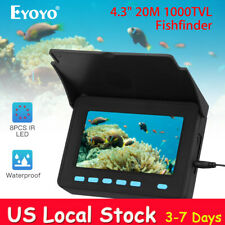 "4.3"" 20M Fish Finder 1000Tvl + Bracket 110°Wide Angle Underwater Fishing Camera"