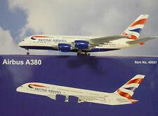 Hogan Wings 1:400 Airbus A380-800  British Airways G-XLEA  + Herpa Wings Katalog