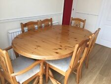 Unbranded Pine Piece Table & Chair Sets 6