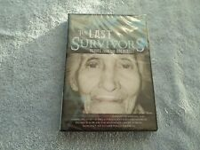 THE LAST SURVIVORS - ECHOES FROM THE HOLOCAUST -  DVD - NEW