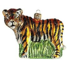 Tiger Polish Glass Christmas Ornament Made in Poland Decoration