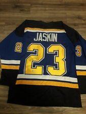 Dimitrij Jaskin Authentic Autographed Jersey # 22/100
