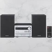 Panasonic Micro HiFi Stereo System CD Player FM Radio Bluetooth 20W SCPM250EBS