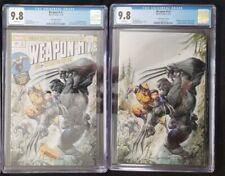 Weapon H #1 CGC 9.8 Crain A & B Virgin Variant Covers HULK 181 Homage Wolverine