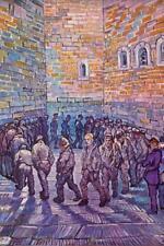 Vincent van Gogh Prisoners Exercising - Poster 24x36 inch