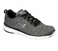 Men's Skechers Black Shoes Memory Foam Sporty Comfort Casual Athletic Mesh 52956