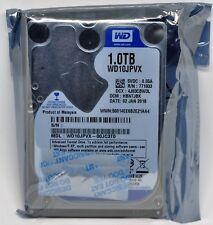 Hard Drive Western Digital Blue 1TB Internal 5400RPM 2.5