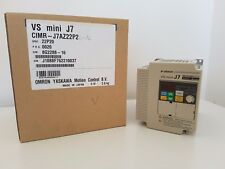 OMRON CIMR-J7AZ22P20 Inverter Drive 2.2KW 1-Phase In 200..240V A 0.1..400Hz Out