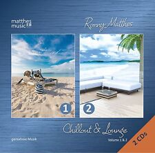 Chillout & Lounge, Vol. 1 & 2 [Gemafreie Chillout / Lounge & Barmusik] CD & MP3