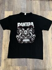 Pantera Band T-Shirt Rock Punk pop Alternative Metal Unisex Skulls