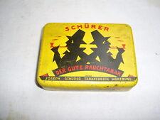 Blechdose , Schürer Tabak , Würzburg
