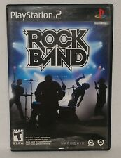 Rock Band Game For PlayStation 2 PS2 Music
