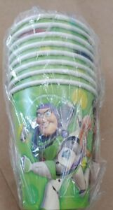 Toy Story 2 packs of 8 count Paper Party Cups Birthday Party Free Shipping