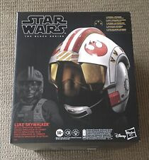 NEW Star Wars: The Black Series Luke Skywalker 1:1 Wearable Electronic Helmet