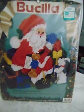 Bucilla 1991 Santa Something for Everyone Doorstop  KIT  Sealed