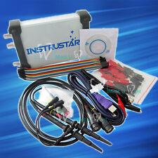 USB Virtual Oscilloscope 2CH Spectrum Analyzer Data Recorder Logic Analyzer DDS
