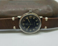 VINTAGE OMEGA SEAMASTER BLACK DIAL DATE CAL:565 AUTOMATIC MAN'S WATCH
