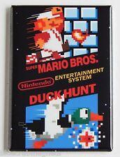 Super Mario Bros Duck Hunt FRIDGE MAGNET (2 x 3 inches) arcade video game nes
