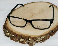 Nicole Miller Jett Eyeglasses Frame 56-16-142 Olive Tortoise C02 Glasses