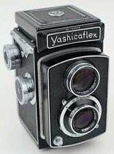 YASHICAFLEX A-I TLR CAMERA PUSH BUTTON SHUTTER COPAL YASHIMAR 80mm 1:35