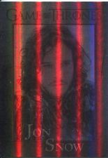 Game Of Thrones Season 3 Foil Parallel Base Card  41 Jon Snow