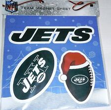 New York Jet's TEAM MAGNET SHEET  3 Magnets