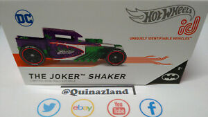 Hot Wheels ID The Joker Shaker Batman (NP49)
