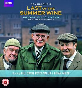 """Last Of The Summer Wine The complete Series Season 1 - 32 DVD Box Set """"Clearance"""