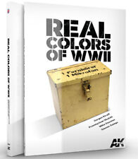 AK Interactive #AKI-187 Real Colors of WWII Book