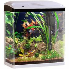 Sweetypet Nano-Aquarium-Komplett-Set mit LED-Beleuchtung, Pumpe und Filter, 25 l