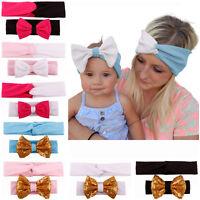 New  2PCS / Set Women Baby Elastic Hair Band Headwear Headband Accessories